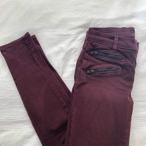 Jbrand Zoey Lava Skinny Jeans